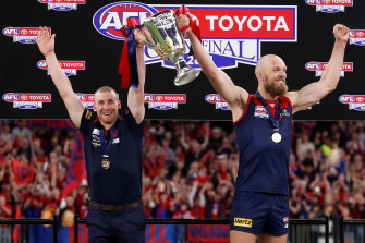 AFL grand final 2021 LIVE updates: Rampaging Demons clinch 13th premiership, Norm Smith curse broken