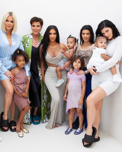 All the unseen photos of the Kardashian family by Kris Jenner!