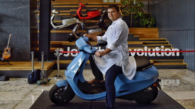 As Indian Companies Seek To Hire More Women, E-Scooter Maker Ola Electric Puts Them In Driver's Seat