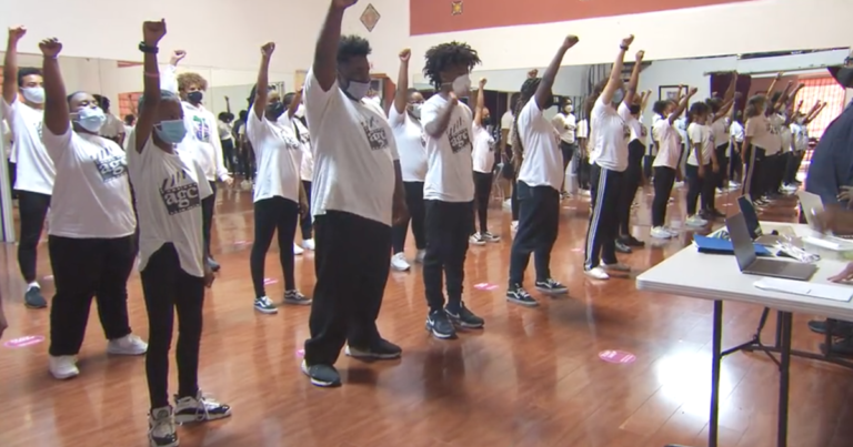 At-risk youth find their voices through performance art