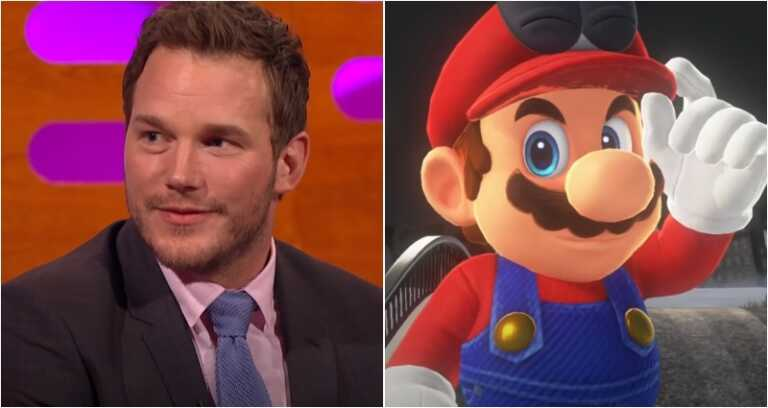 Chris Pratt playing Super Mario may prove the Nintendo character is not Japanese after all