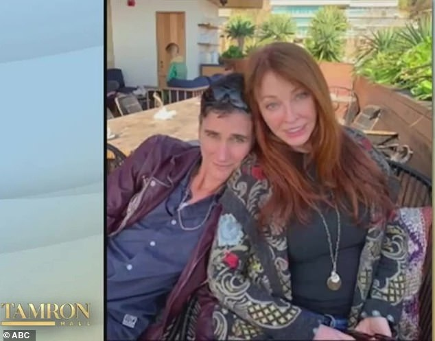 Elvira, 70, reveals first picture of secret girlfriend of 19 years