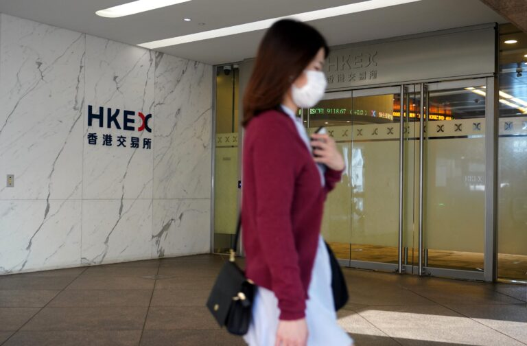 Hang Seng index drops more than 3% as Evergrande shares plunge 10%, other property stocks fall