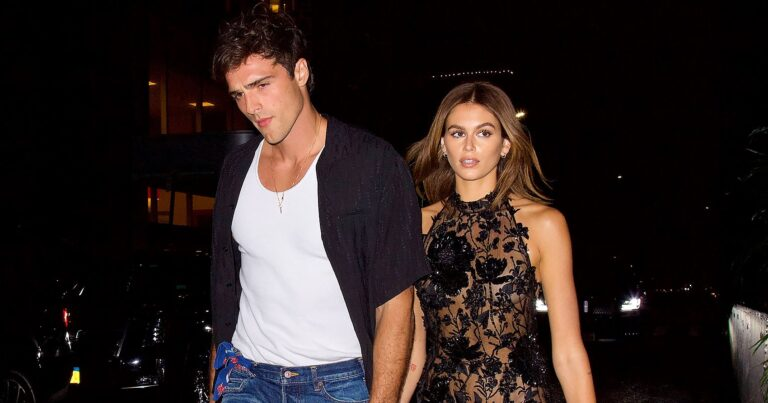 Kaia Gerber and Jacob Elordi's Laidback Couple Style Is Seriously Goals