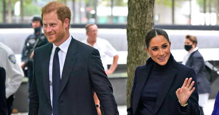 Meghan Markle Reads 'The Bench' at Harlem School During NY Trip With Harry