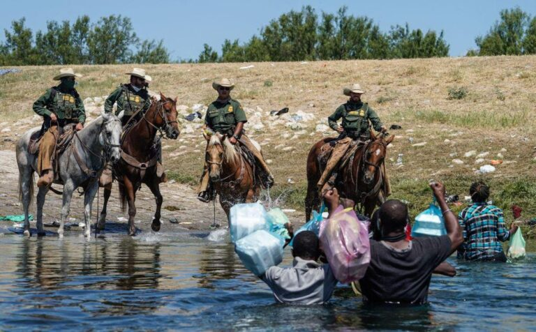 Newly surfaced video squashes narrative that Border Patrol agents on horses used whips against migrants