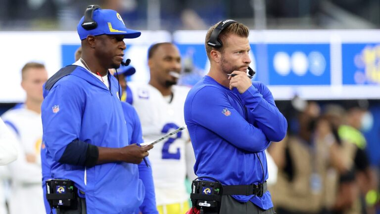 Rams DC Raheem Morris Points Out Key in Stopping Colts
