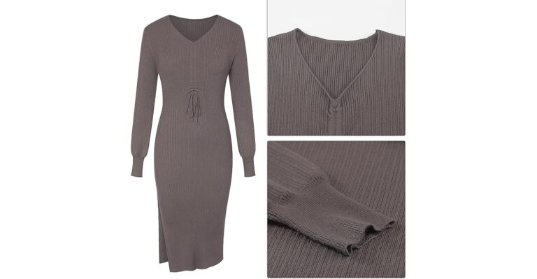 You'll Turn Heads Every Time You Wear This Ruched-Front Dress
